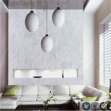 China Popular Marble PVC Homogeneous Click Vinyl Flooring Tile     Popular Marble PVC Homogeneous Click Vinyl Flooring Tile