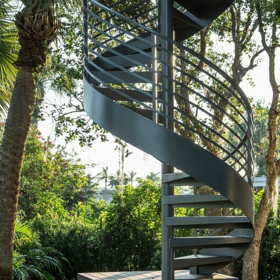 China Outdoor Wrought Iron Stair Design Cast Iron Spiral Stair | Outdoor Iron Staircase Designs | Gallery | Outdoor Balcony | Exterior | Curved Staircase Carpet | Wooden Staircase
