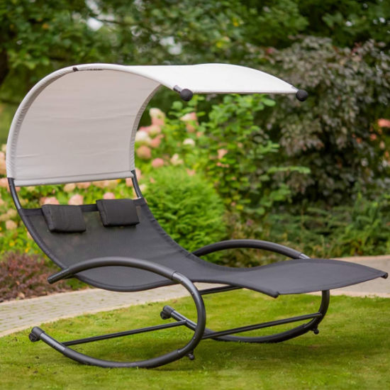 double patio chaise lounge chairs with