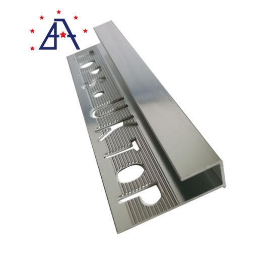 matt black gold u t shape aluminium ceramic tile edge trim countertops cnc aluminum tile trim