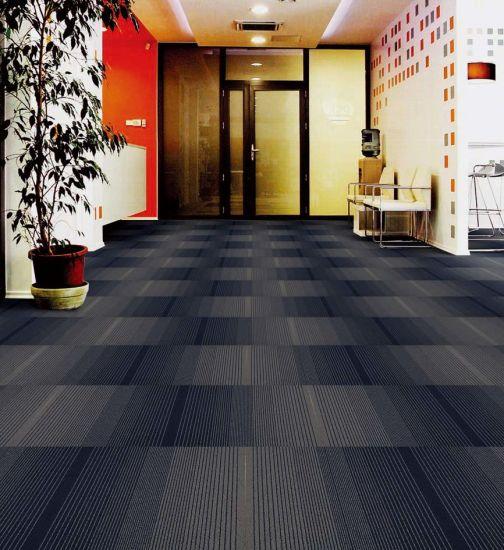 hot item 8 color pp gradual change office carpet tiles for commercial use