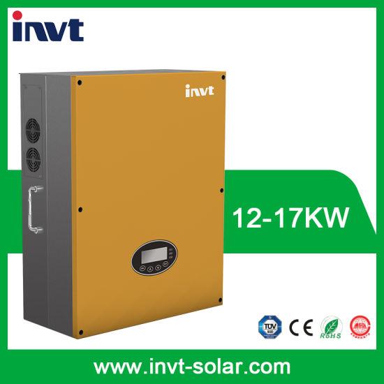 China Invt Bg Series 12kw/15kw/17kw Three Phase Grid-Tied Solar ...