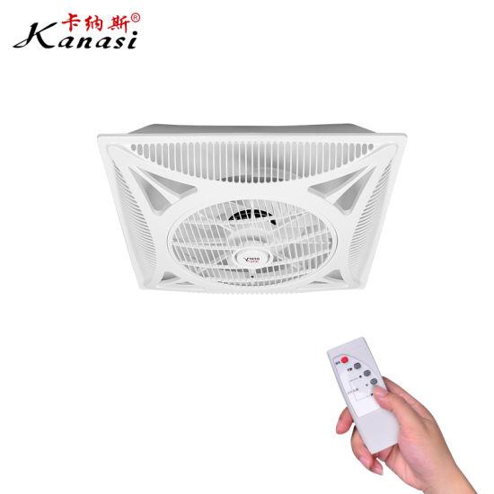 350 mm abs false drop ceiling box fan
