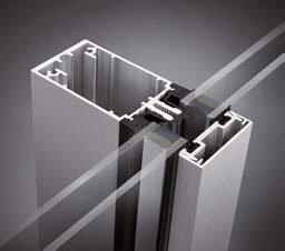 aluminium stick frame curtain wall