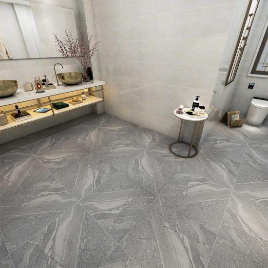 RTS 600600mm SK693 Dark Grey full body rustic tiles for living roomhotelrestaurant porcelain tile floor. China Monterey Az Montagna Rustic Bay Bathroom Shower Tile Grey China Floor Tile Ceramic Porcelain Tile
