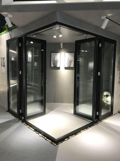 custom glazed soundproof aluminum folding sliding doors aluminium bifold door home depot bifold doors