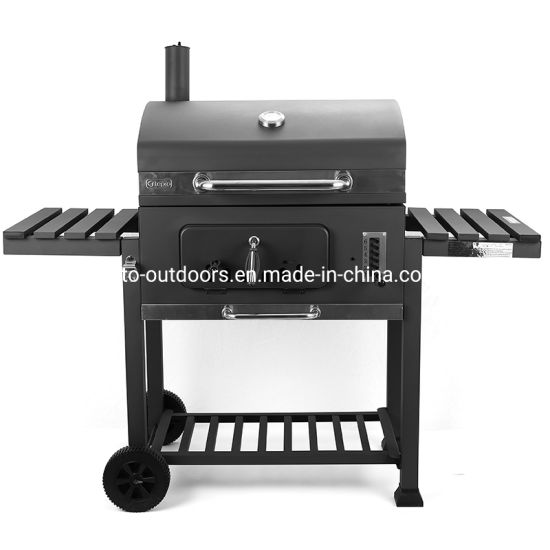 yard patio huge big charcoal bbq grill