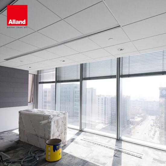 china ceiling tile fiber glass ceiling tie t grid supplier alland building materials shenzhen co ltd