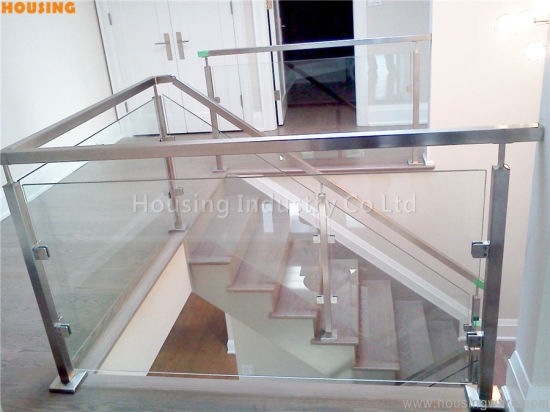 China Diy Glass Railing With Baluster For Balcony And Staircase   Diy Glass Stair Railing   Cable Railing   Modern Stair Parts   Floating Staircase   Railing Ideas   Wood