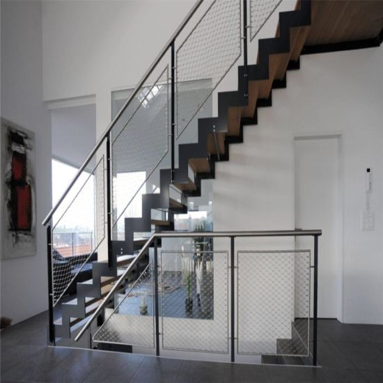 Duplex House Stair Railing Stair Railing Modern Iron Railing | Home Stair Railing Design | Grill | Living Room | Inside | Small House | Outside Staircase Grill