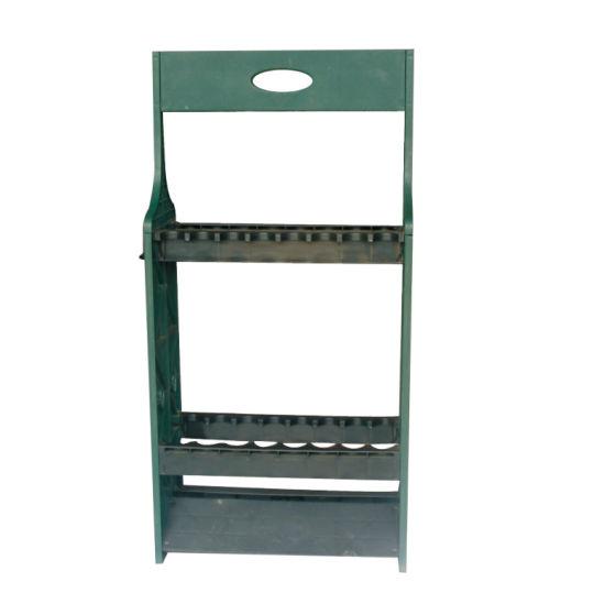 plastic fishing rod storage rack display stand fishing rod stand