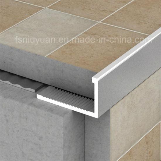 niu yuan aluminium l shaped floor