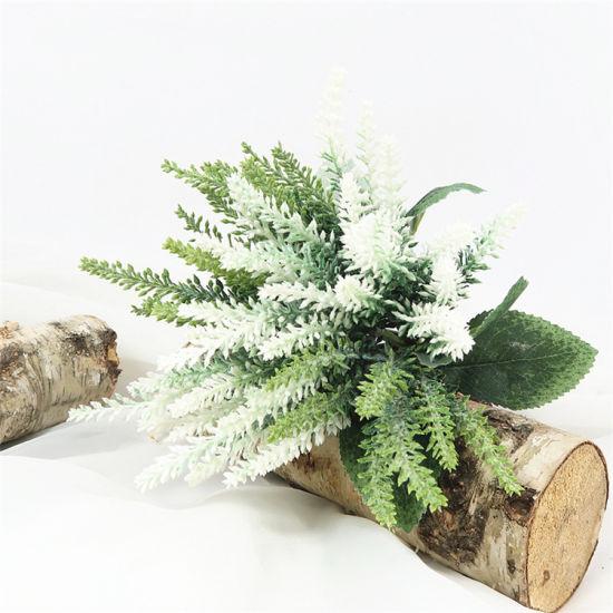 artificial flowers lavender bouquet for