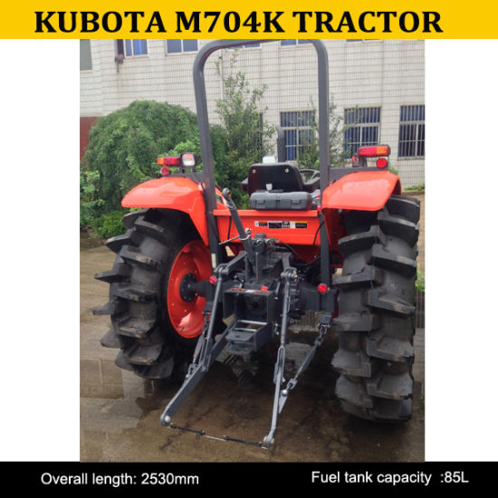 Kubota Agricultural M704k Tractor 4wd M704 Small Tractors