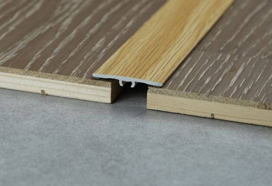aluminium strips metal edged trim t shaped floor transition bronze metal tile trim