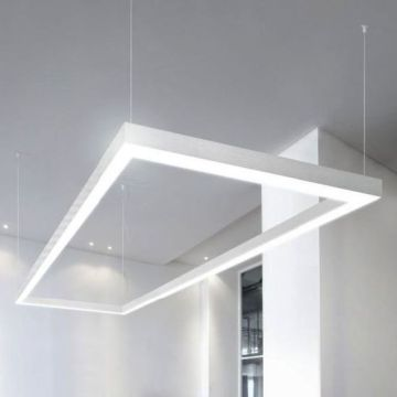 China Model 7575 Suspended Linear Light with Joint Connectors     Model 7575 Suspended Linear Light with Joint Connectors