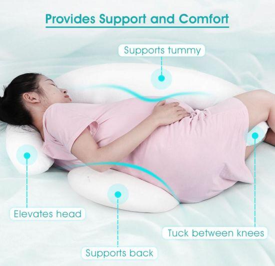 c shape body maternity pregnancy pillow