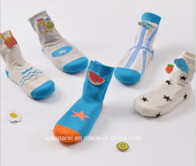 Kid Cute Cartoon Tube Sock Baby Children Socks Wholesale China