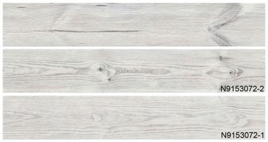 white porcelain wood look flooring tile