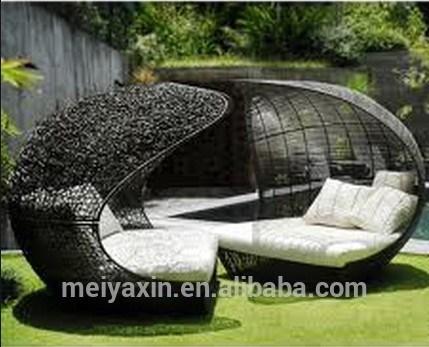 single outdoor garden patio furniture