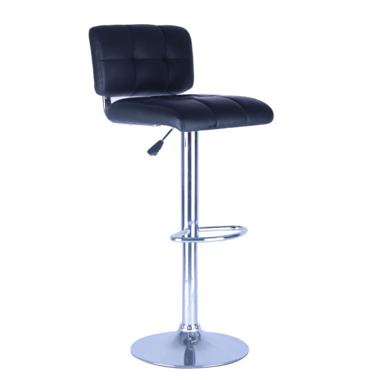 China Wholesale Modern New Design Pu Home Center Swivel Bar Stool China Wholesale Bar Stool Modern Bar Chair