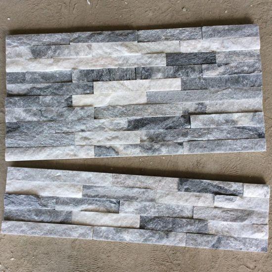china gray slate ledgestone tile
