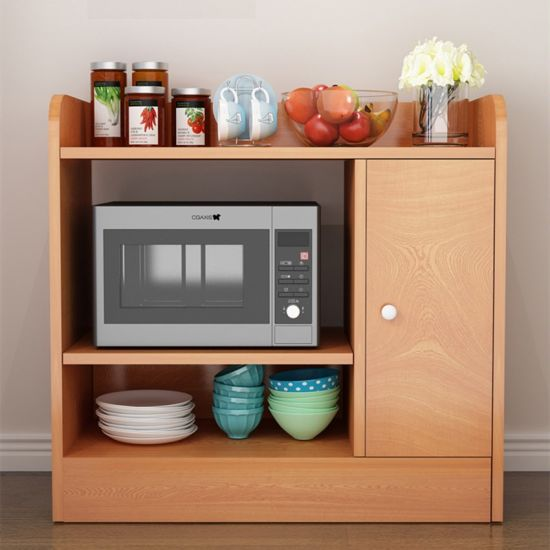 dining room kitchen cabinet microwave oven storage cabinet simple furniture 0294