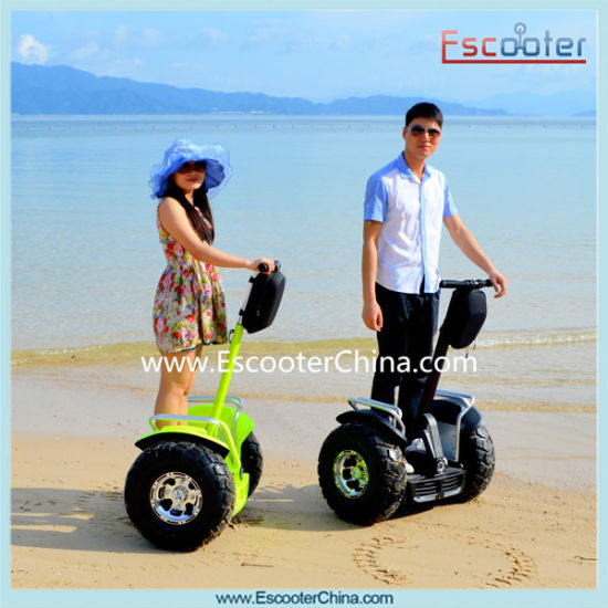 72v Fashion Design Two Wheel Electric Chariot Self Balance Electrical Scooter Standing