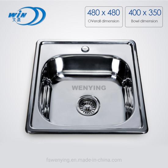 insert stainless steel sink kitchen