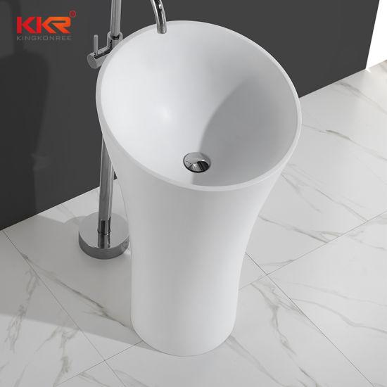 china bathroom round stone freestanding