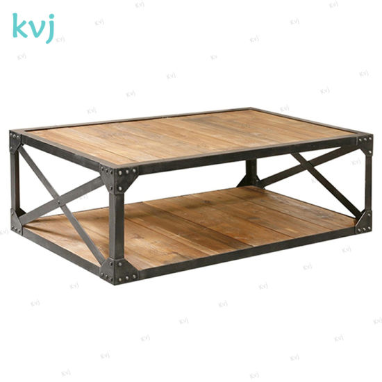 china kvj 7349 solid wood steel frame