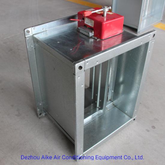 low cost smoke exhaust fire damper