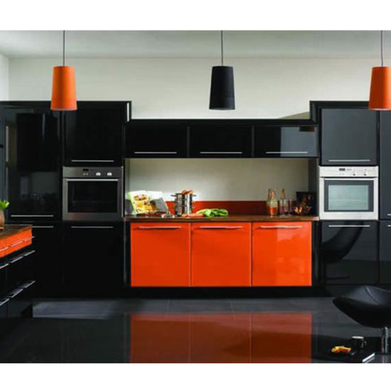 China Modern High Quality Waterproof Oak Wooden Kitchen Cabinet China Pantry Kitchen Cabinets Ready Built Kitchen Cupboards