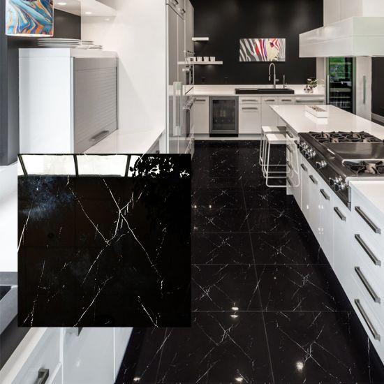 cheap marble glazed porcelain floor