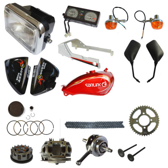 Manufactory All Size Motorcycle Parts