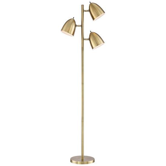 China Jlf 435 Brass 3 Light Chandelier Downlight Artistic Floor Standing Lamp China Floor Lamps Floor Standing Lamp