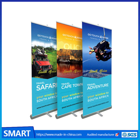 stand al alloy retractable poster roll