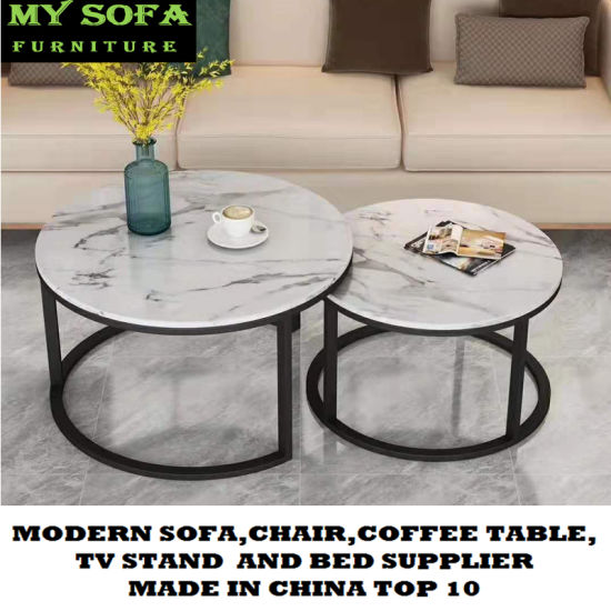 china black marble small coffee table