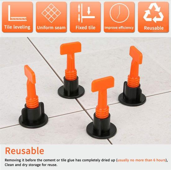 china new design reusable t lock tile