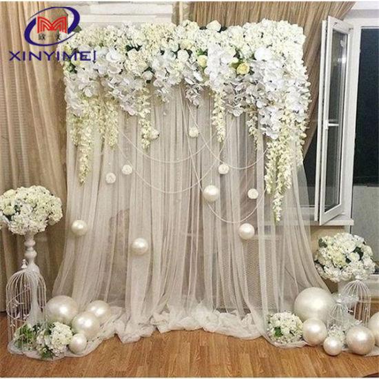 elegant organza drapes curtain wedding