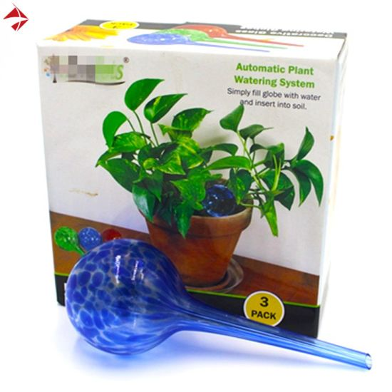 Glass Self Watering Planters While On Vacation For Promotion Wholesale China Plant Stake And Self Watering Globe Price Made In China Com