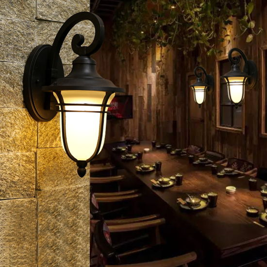 china outdoor led column lights fixture