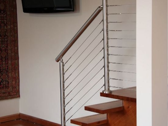 Made In China Home Use Diy Stainless Steel Stair Tension Wire | Tension Wire Stair Railing | Stainless Steel | Simple | Aluminum Commercial | Residential | Wire Balustrade