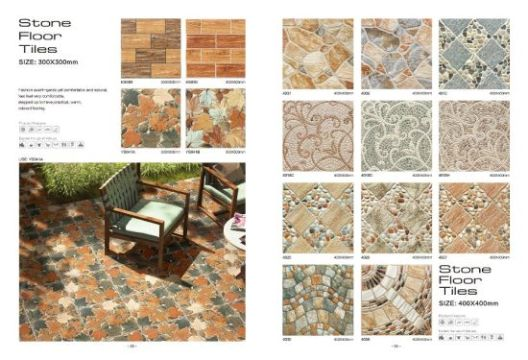 China 300X300 Ceramic Floor Tile Stone Look Tile for Outdoor     300X300 Ceramic Floor Tile Stone Look Tile for Outdoor Building