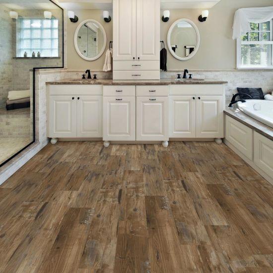 super strong waterproof spc lvt pvc click vinyl tile flooring