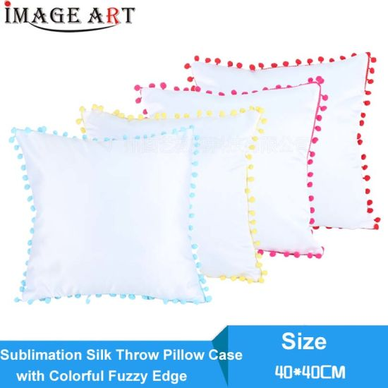 china 40x40 sublimation blank silk