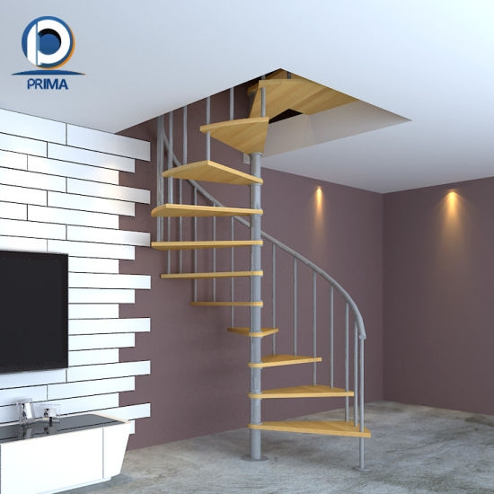 China Wrought Iron Staircase Design Space Saving Spiral Stair | Space Saving Stairs Design | Storage | Small Space | Cute | Low Cost | 2Nd Floor Small Terrace Concrete