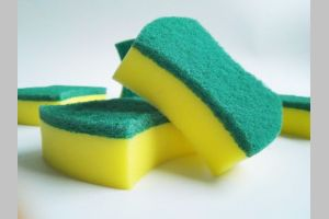 China Best Sale Hot Household Kitchen Sponge Cleaner In Nylon Best Sale Hot Household Kitchen Sponge Cleaner In Nylon