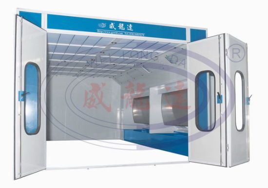 china water curtain spray booth spray