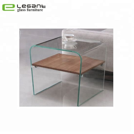 china 12 mm thick glass side table